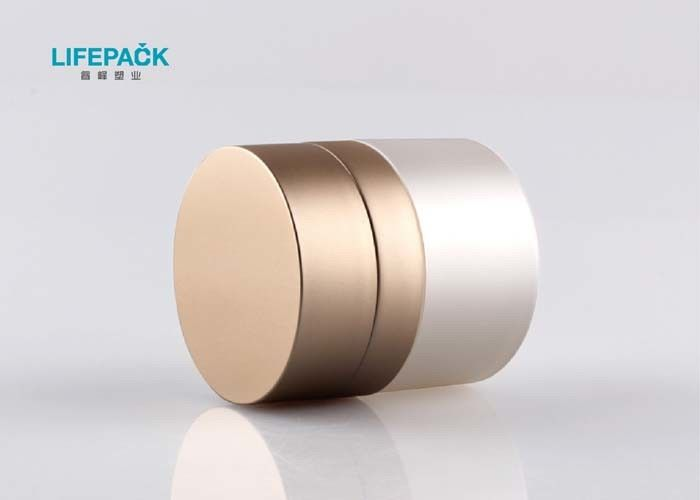 Double Wall Custom Cosmetic Jars , Airless Containers Cosmetics For