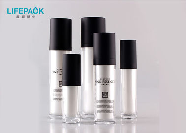15ml - 120ml Plastic Cosmetic Packaging / Cosmetic Pump Bottles Customized Logo