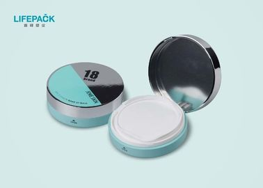 15ML Plastic Cosmetic Packaging Round CC Cream Container With Mirror