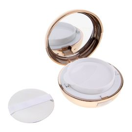 Durable Makeup Powder Container / Air Cushion Foundation Case With Mirror